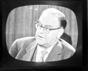 Socialdemokraternas ledare Tage Erlander