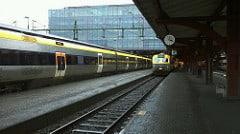 Lokaltåg vid Göteborgs central